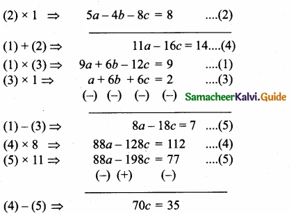 Samacheer Kalvi 10th Maths Guide Chapter 3 Algebra Additional Questions 33