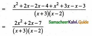 Samacheer Kalvi 10th Maths Guide Chapter 3 Algebra Ex 3.6 1