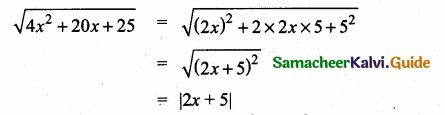 Samacheer Kalvi 10th Maths Guide Chapter 3 Algebra Ex 3.7 4