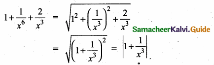 Samacheer Kalvi 10th Maths Guide Chapter 3 Algebra Ex 3.7 6