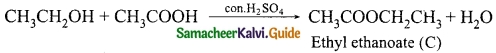 Samacheer Kalvi 10th Science Guide Chapter 11 Carbon and its Compounds 26