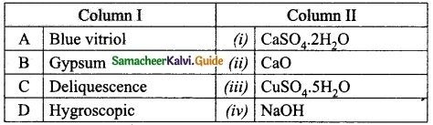 Samacheer Kalvi 10th Science Guide Chapter 9 Solutions 1