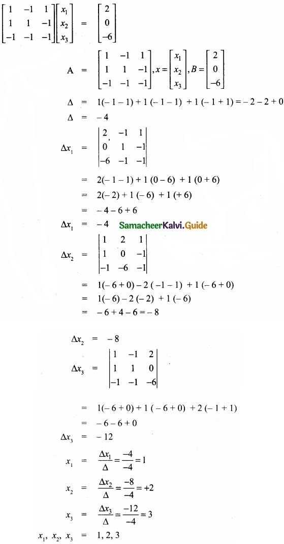Samacheer Kalvi 11th Economics Guide Chapter 12 Mathematical Methods for Economics img 6