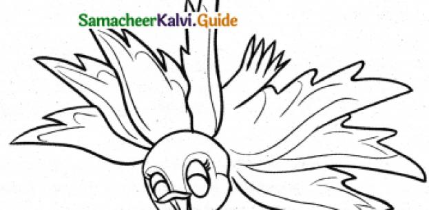 Samacheer Kalvi 4th Tamil Guide Chapter 3 ஏழு இறக்கைக் குருவியும் தெனாலிராமனும் - 1