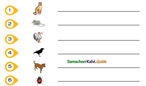 Samacheer Kalvi 5th Tamil Guide Chapter 1.4 மரபுச்சொற்கள் - 3