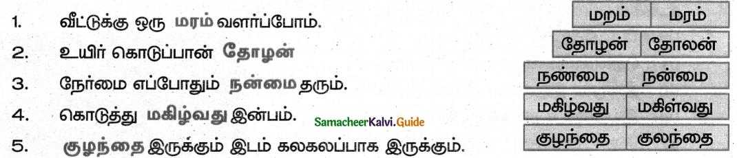 Samacheer Kalvi 5th Tamil Guide Chapter 3.4 சொற்றொடர் அமைப்பு முறை - 7
