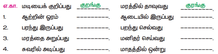 Samacheer Kalvi 5th Tamil Guide Chapter 8.4 மயங்கொலிச் சொற்கள் - 5