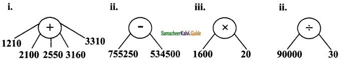 Samacheer Kalvi 6th Maths Guide Term 2 Chapter 5 Information Processing Ex 5.2 6