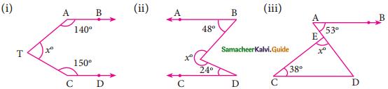 Samacheer Kalvi 9th Maths Guide Chapter 4 Geometry Ex 4.1 1