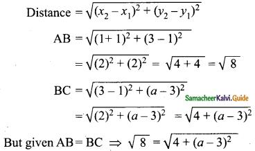 Samacheer Kalvi 9th Maths Guide Chapter 5 Coordinate Geometry Ex 5.2 15