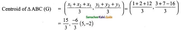 Samacheer Kalvi 9th Maths Guide Chapter 5 Coordinate Geometry Ex 5.5 16