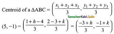 Samacheer Kalvi 9th Maths Guide Chapter 5 Coordinate Geometry Ex 5.5 6