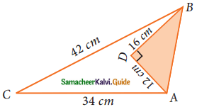 Samacheer Kalvi 9th Maths Guide Chapter 7 Mensuration Ex 7.1 6
