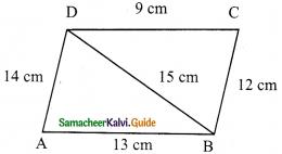 Samacheer Kalvi 9th Maths Guide Chapter 7 Mensuration Ex 7.1 8