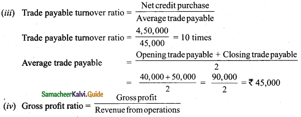 Tamil Nadu 12th Accountancy Model Question Paper 1 English Medium 45