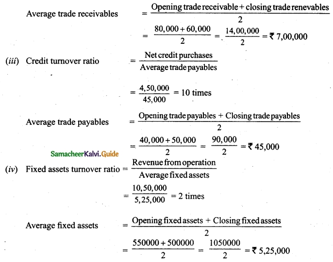Tamil Nadu 12th Accountancy Model Question Paper 3 English Medium 50