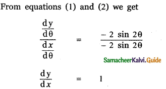 Samacheer Kalvi 11th Maths Guide Chapter 10 Differentiability and Methods of Differentiation Ex 10.4 18