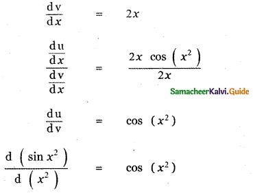 Samacheer Kalvi 11th Maths Guide Chapter 10 Differentiability and Methods of Differentiation Ex 10.4 25