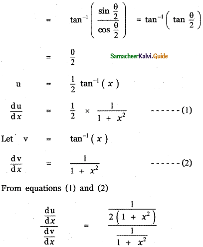 Samacheer Kalvi 11th Maths Guide Chapter 10 Differentiability and Methods of Differentiation Ex 10.4 29