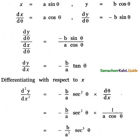 Samacheer Kalvi 11th Maths Guide Chapter 10 Differentiability and Methods of Differentiation Ex 10.5 15