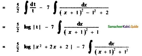 Samacheer Kalvi 11th Maths Guide Chapter 11 Integral Calculus Ex 11.11 4