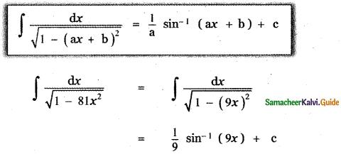 Samacheer Kalvi 11th Maths Guide Chapter 11 Integral Calculus Ex 11.2 8