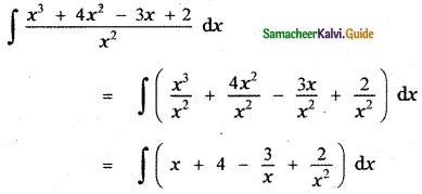 Samacheer Kalvi 11th Maths Guide Chapter 11 Integral Calculus Ex 11.5 2