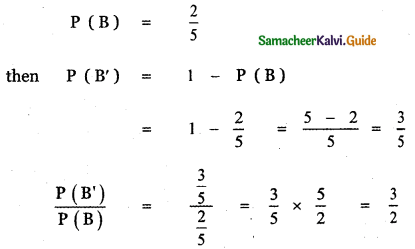 Samacheer Kalvi 11th Maths Guide Chapter 12 Introduction to Probability Theory Ex 12.1 21