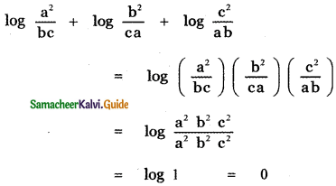 Samacheer Kalvi 11th Maths Guide Chapter 2 Basic Algebra Ex 2.12 6