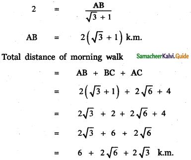 Samacheer Kalvi 11th Maths Guide Chapter 3 Trigonometry Ex 3.10 30