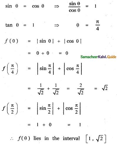 Samacheer Kalvi 11th Maths Guide Chapter 3 Trigonometry Ex 3.12 26