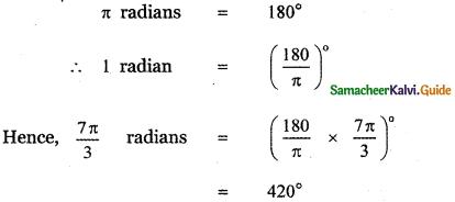Samacheer Kalvi 11th Maths Guide Chapter 3 Trigonometry Ex 3.2 11