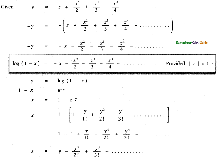 Samacheer Kalvi 11th Maths Guide Chapter 5 Binomial Theorem, Sequences and Series Ex 5.4 24