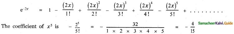 Samacheer Kalvi 11th Maths Guide Chapter 5 Binomial Theorem, Sequences and Series Ex 5.5 19