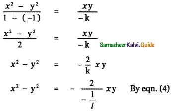 Samacheer Kalvi 11th Maths Guide Chapter 6 Two Dimensional Analytical Geometry Ex 6.4 27