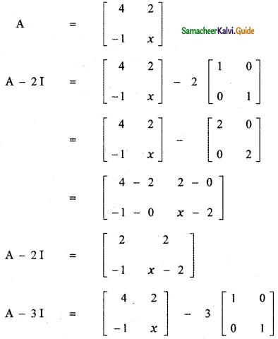 Samacheer Kalvi 11th Maths Guide Chapter 7 Matrices and Determinants Ex 7.1 17
