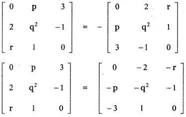 Samacheer Kalvi 11th Maths Guide Chapter 7 Matrices and Determinants Ex 7.1 61