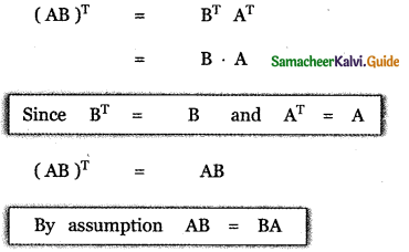 Samacheer Kalvi 11th Maths Guide Chapter 7 Matrices and Determinants Ex 7.1 64