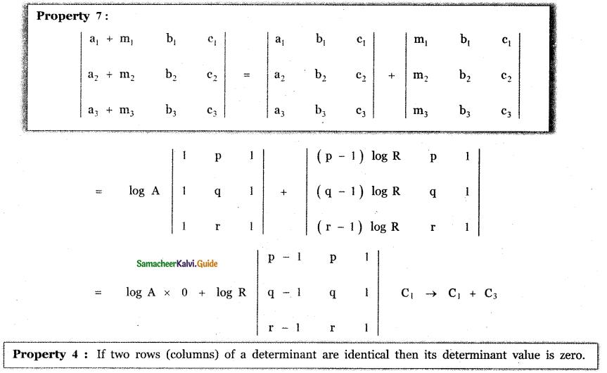 Samacheer Kalvi 11th Maths Guide Chapter 7 Matrices and Determinants Ex 7.2 30