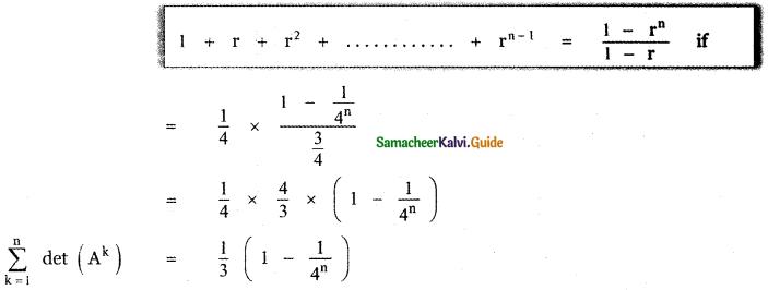 Samacheer Kalvi 11th Maths Guide Chapter 7 Matrices and Determinants Ex 7.2 40