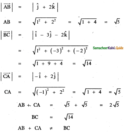 Samacheer Kalvi 11th Maths Guide Chapter 8 Vector Algebra - I Ex 8.2 46