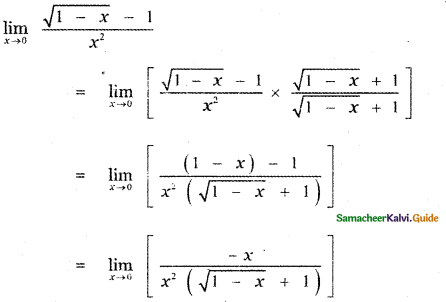 Samacheer Kalvi 11th Maths Guide Chapter 9 Limits and Continuity Ex 9.2 31