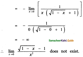 Samacheer Kalvi 11th Maths Guide Chapter 9 Limits and Continuity Ex 9.2 32