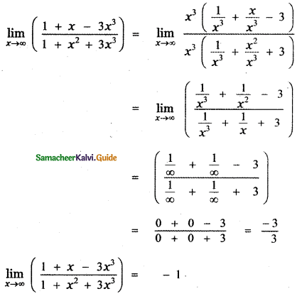 Samacheer Kalvi 11th Maths Guide Chapter 9 Limits and Continuity Ex 9.3 15