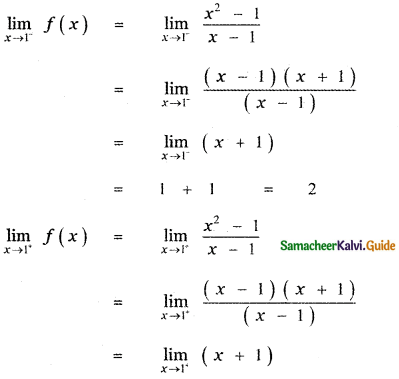 Samacheer Kalvi 11th Maths Guide Chapter 9 Limits and Continuity Ex 9.5 33