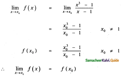 Samacheer Kalvi 11th Maths Guide Chapter 9 Limits and Continuity Ex 9.5 40