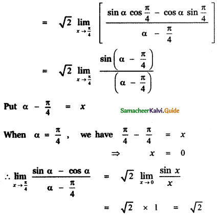 Samacheer Kalvi 11th Maths Guide Chapter 9 Limits and Continuity Ex 9.6 38