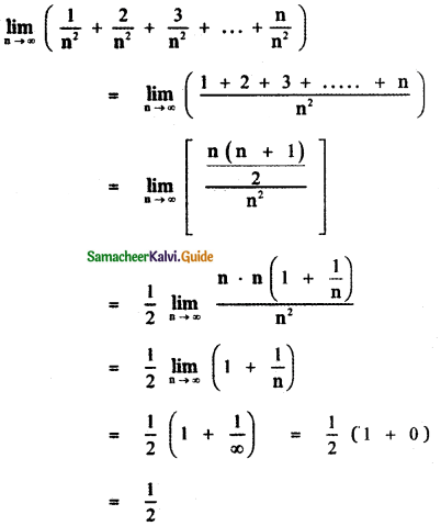 Samacheer Kalvi 11th Maths Guide Chapter 9 Limits and Continuity Ex 9.6 40