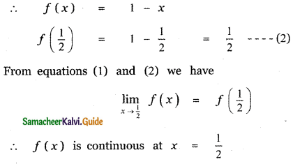Samacheer Kalvi 11th Maths Guide Chapter 9 Limits and Continuity Ex 9.6 53