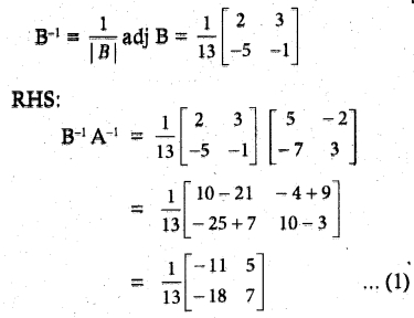 Samacheer Kalvi 12th Maths Guide Chapter 1 Applications of Matrices and Determinants Ex 1.1 20